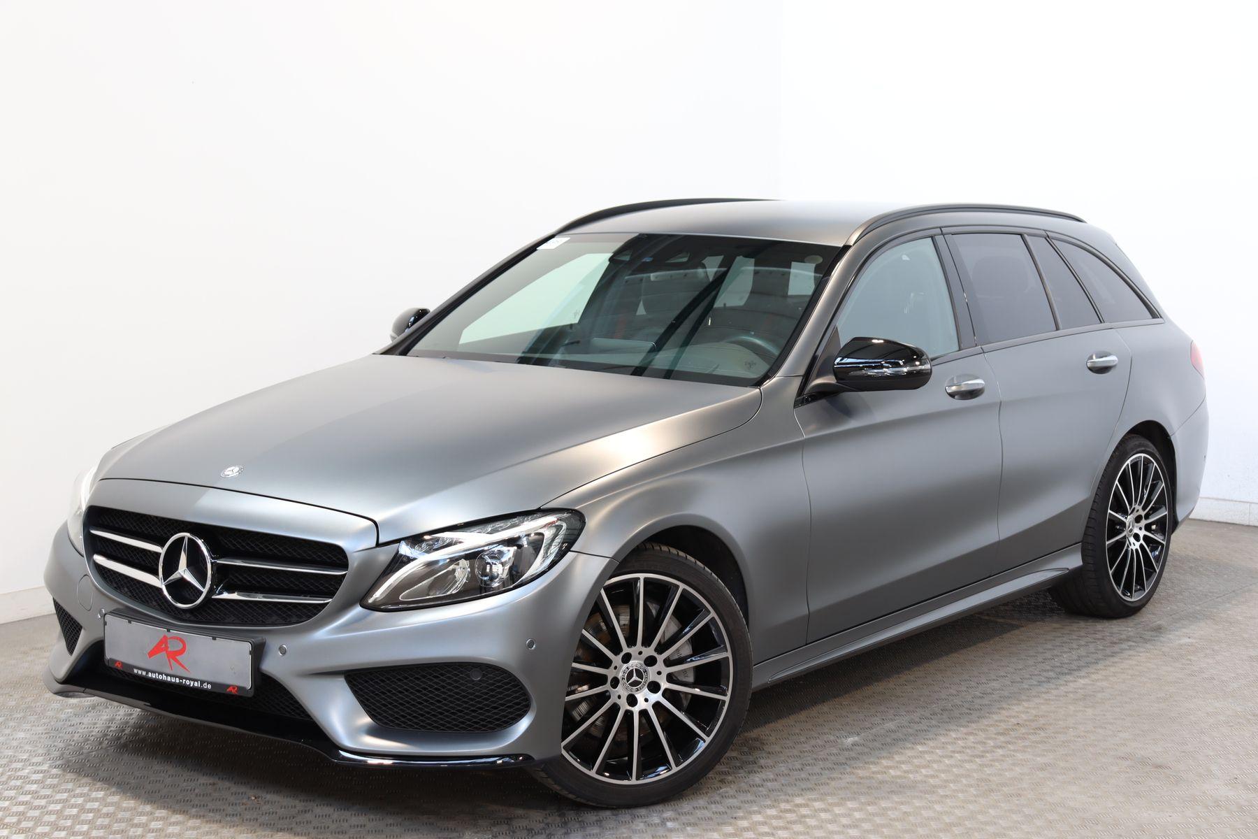 Mercedes-Benz C 400 T 4M AMG DESIGNO HUD,KEYLESS,MEMORY,COMAND, Jahr 2017, Benzin