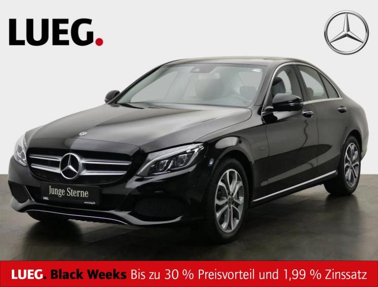 Mercedes-Benz C 350 e Avantgarde+Navi+SHD+LED-ILS+Airm+Key+360, Jahr 2018, Hybrid