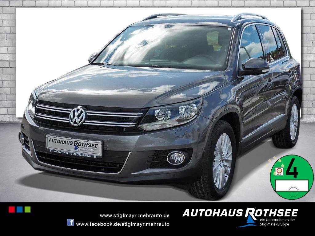 Volkswagen Tiguan Sport & Style Life 1.4 TSI BMT ParkAssist, Jahr 2013, Benzin
