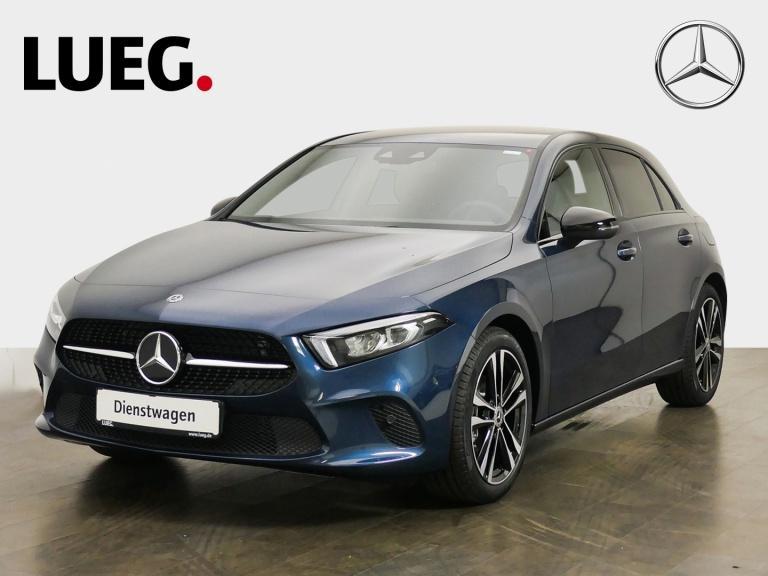 Mercedes-Benz A 180 EDITION19+NAVI-PREM+NIGHT+KAMERA+DISTRONIC, Jahr 2020, Benzin