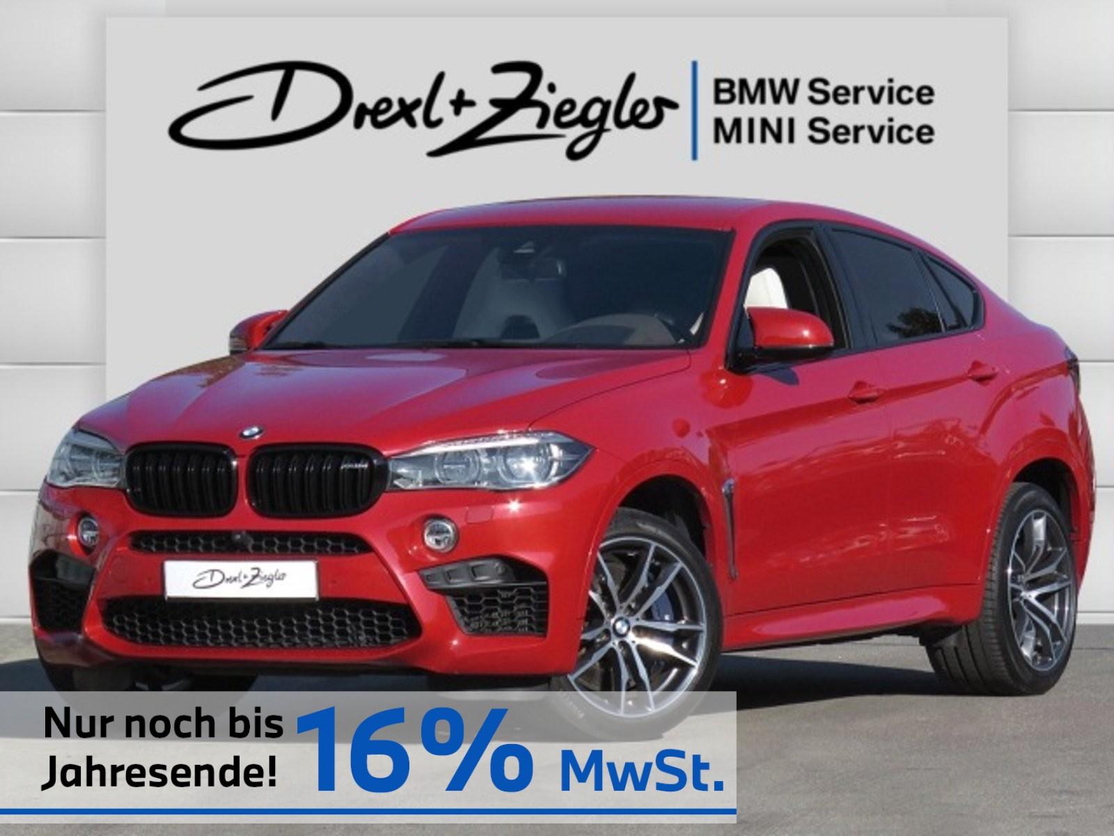 BMW X6 M M-Driver HUD TV B&W SCA DAB Kamera StdHzg, Jahr 2017, Benzin