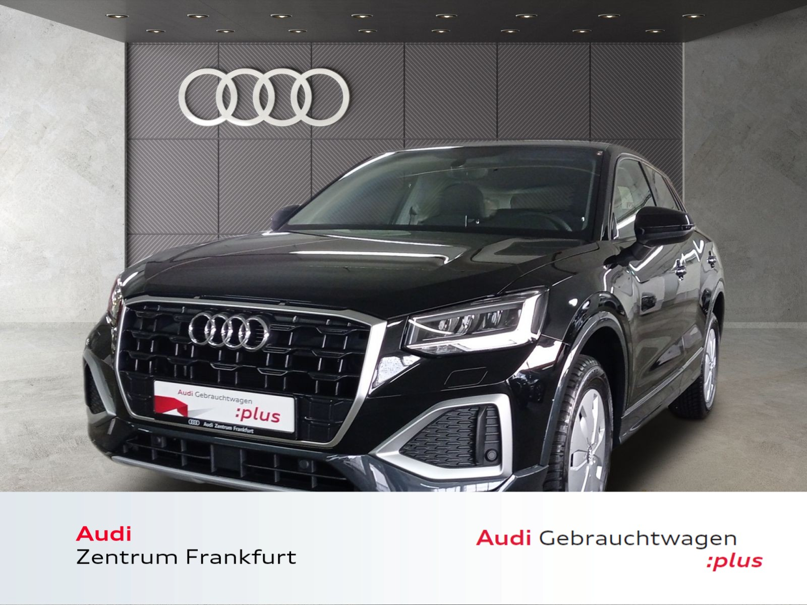 Audi Q2 30 TFSI advanced LED AHK Navi Tempomat, Jahr 2021, Benzin