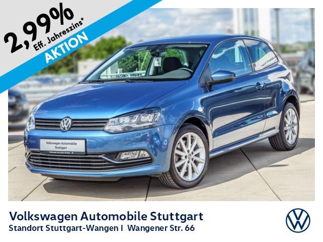 Volkswagen Polo Highline 1.2 TSI Appconnect PDC SHZ GRA LED, Jahr 2017, Benzin