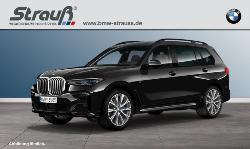 BMW X7 xDrive40i M-Sportpaket, Inovationspaket, Panorama Sky Loung u.a., Jahr 2019, petrol