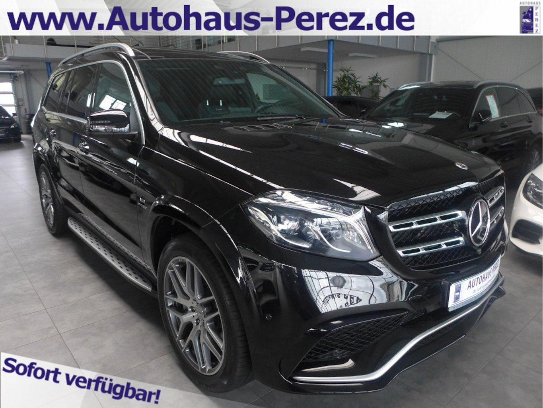 Mercedes-Benz GLS 63 AMG 4M COMAND-DISTR-ACTIVE CURVE-AHK-PANO, Jahr 2018, petrol