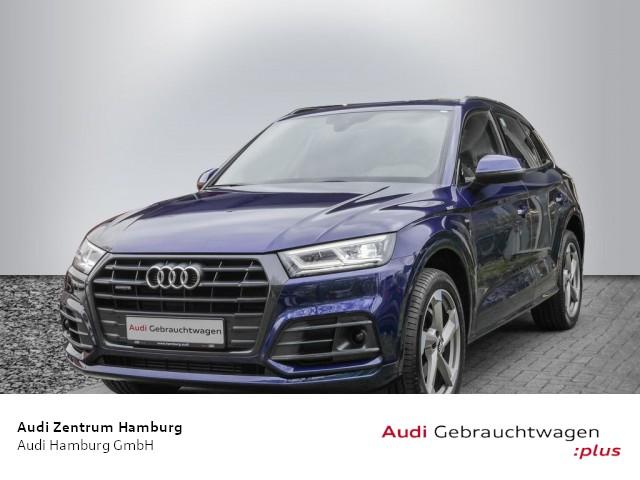 "Audi Q5 2,0 TFSI design quattro S tronic S LINE HEAD-UP 20""ZOLL, Jahr 2018, petrol"