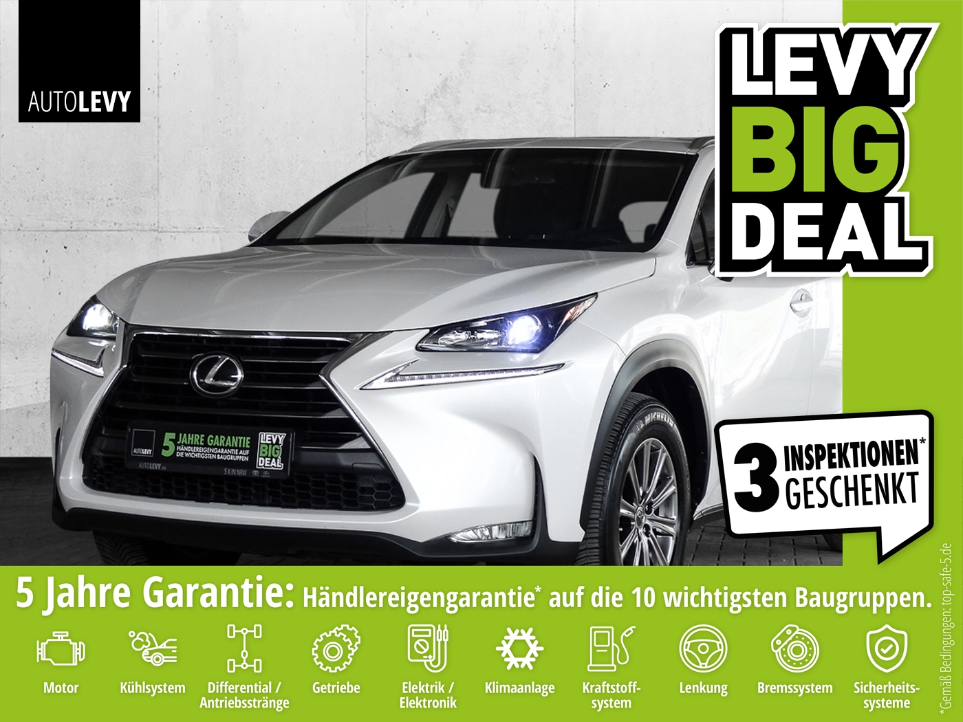 Lexus NX 200t AWD Executive Line *NAVI*SHZ*BLUETOOTH*, Jahr 2015, Hybrid