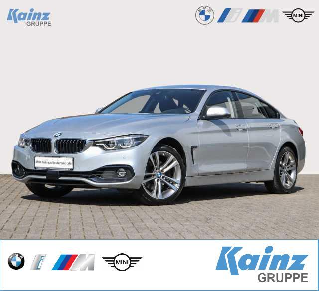 BMW 430d Gran Coupe xDrive Aut. Sport Line AHK/ HUD/ HiFi/ Navi Prof./ Komfortzugang/ Driving Assistent/ Rückfahrkamera/LED, Jahr 2017, Diesel