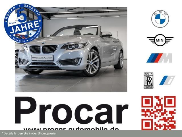 BMW 218d Cabrio Advantage Aut. Navi Business Xenon, Jahr 2017, Diesel