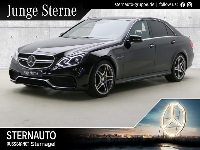 Mercedes-Benz E 63 AMG 4M Distr Sitzklima Comand Pano Sound, Jahr 2015, Benzin