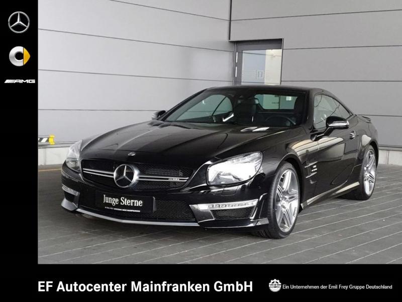 Mercedes-Benz SL 63 AMG+Driver's+Sitzklima+HiFi+TV+nur 11.884km, Jahr 2014, petrol