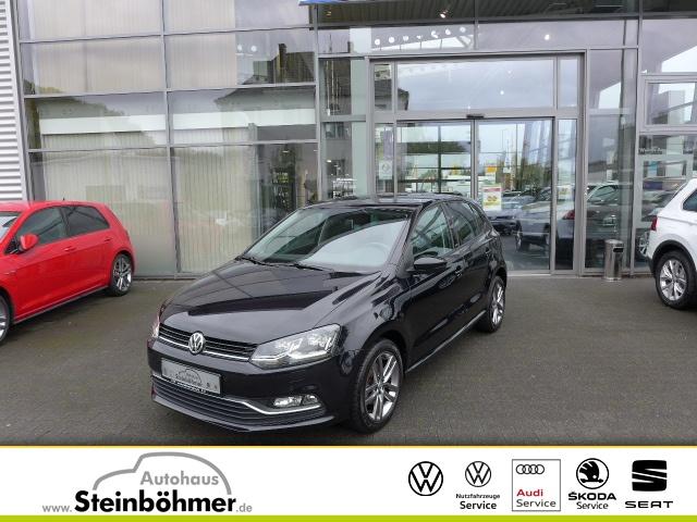 Volkswagen Polo ALLSTAR 1.0l LED MFLL Bluetooth Sitzhzg PDC, Jahr 2016, Benzin