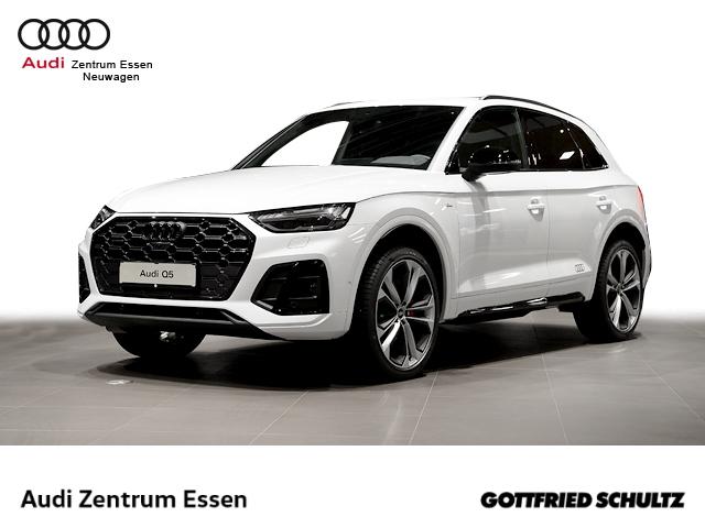 Audi Q5 S line 40 TDI quattro tronic 21 Alu Sportsitze Sitzheiz. 360Kamera B&O Sound, Jahr 2020, Diesel