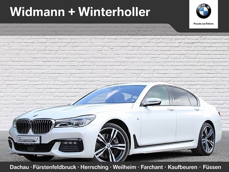 BMW 750i xDrive Limousine M Sportpaket Standhzg. DAB, Jahr 2016, petrol