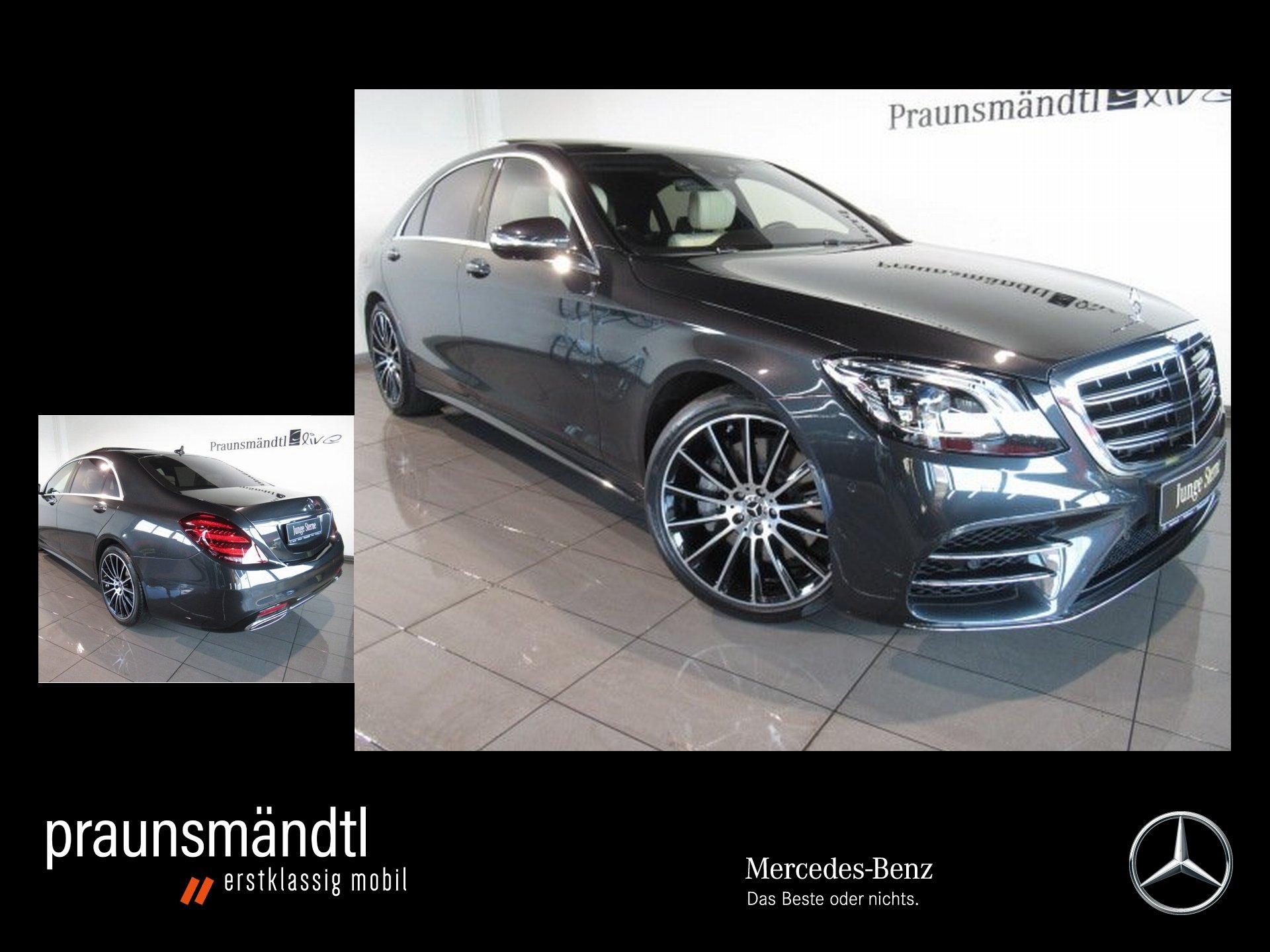 Mercedes-Benz S 560 4M Lang AMG PSD/StdHzg/Sound3d/TV/NP: 197`, Jahr 2018, Benzin