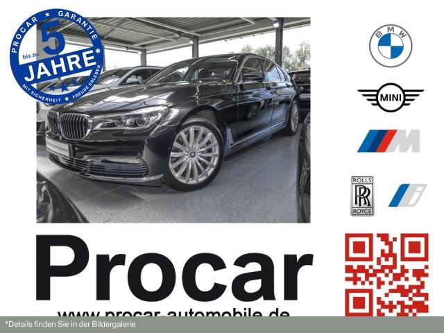 BMW 740d xDrive Innovationsp. Navi Prof. Sport Aut., Jahr 2016, Diesel