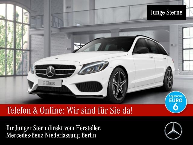 Mercedes-Benz C 400 T 4M AMG Pano Distr. COMAND ILS LED AHK PTS, Jahr 2017, Benzin