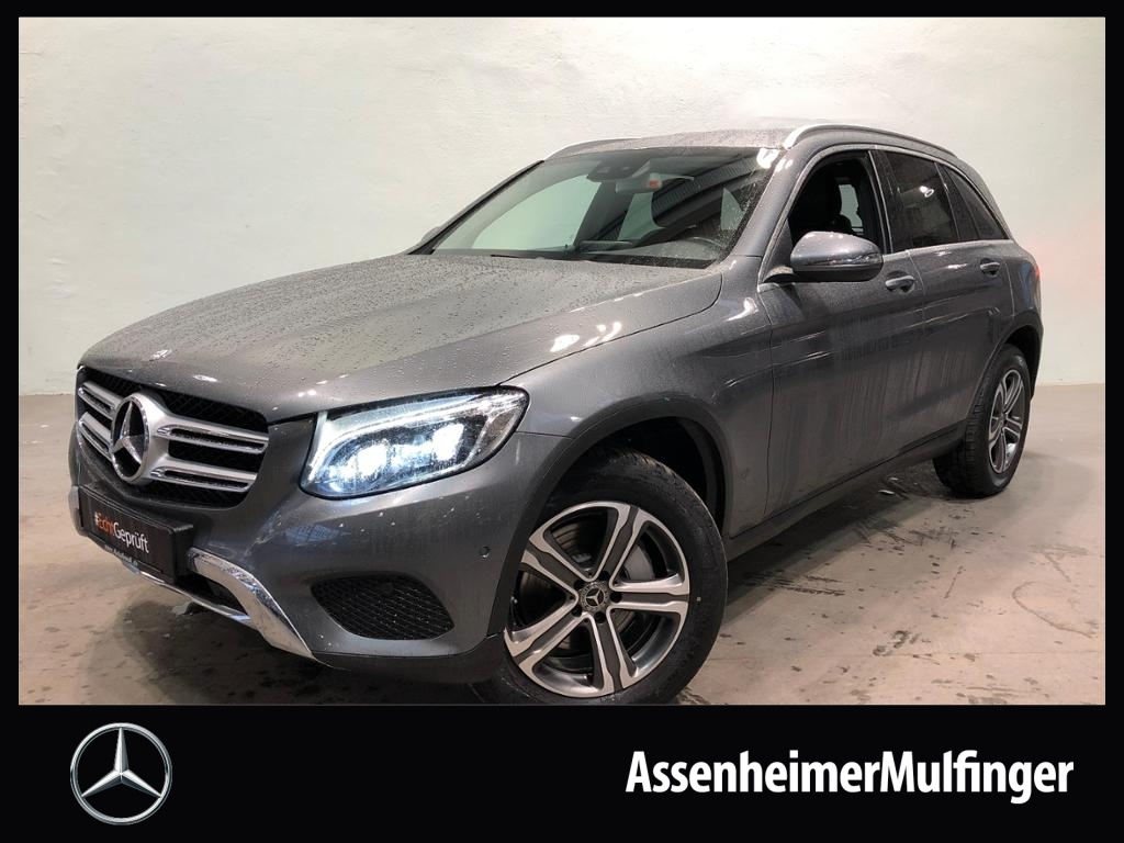 Mercedes-Benz GLC 350 d 4matic Exclusive **COMAND/AHK/ILS, Jahr 2017, Diesel