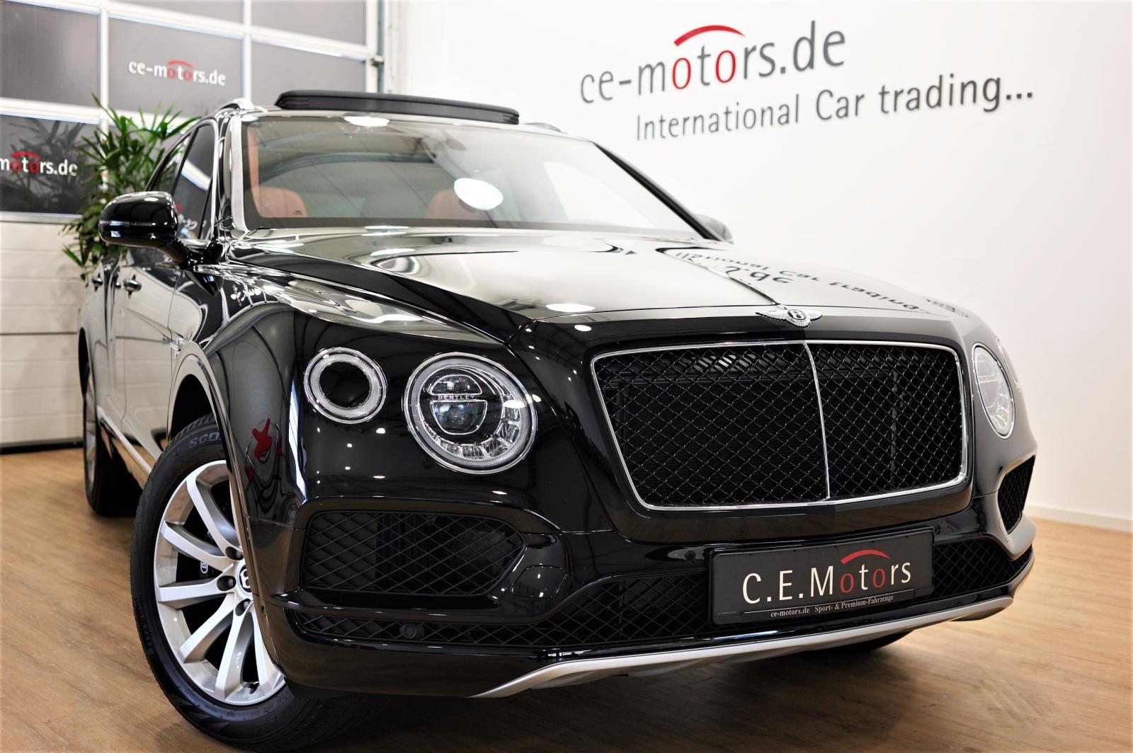 Bentley Bentayga V8 Diesel Panorama, Comf Seats, TV,3 SS, Jahr 2018, Diesel
