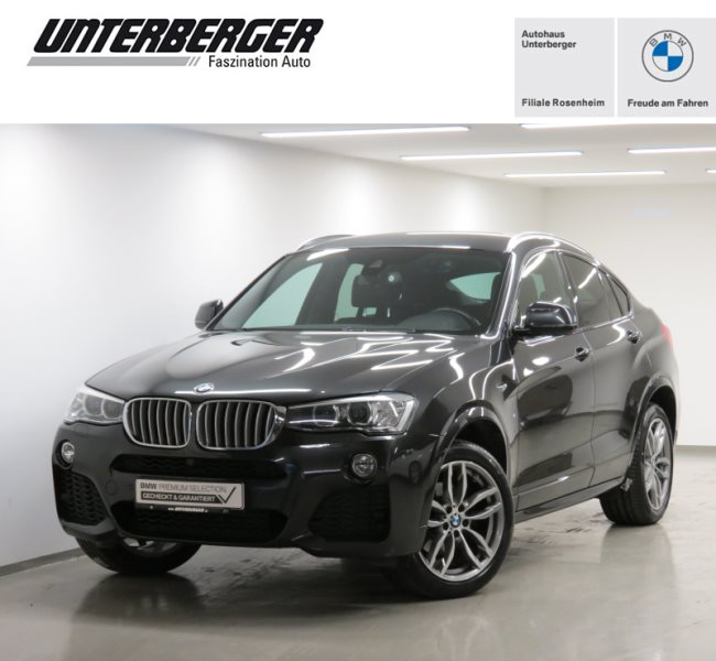 BMW X4 xDrive30d M Sportpaket Standheizung HiFi Xenon WLAN RFK, Jahr 2017, Diesel