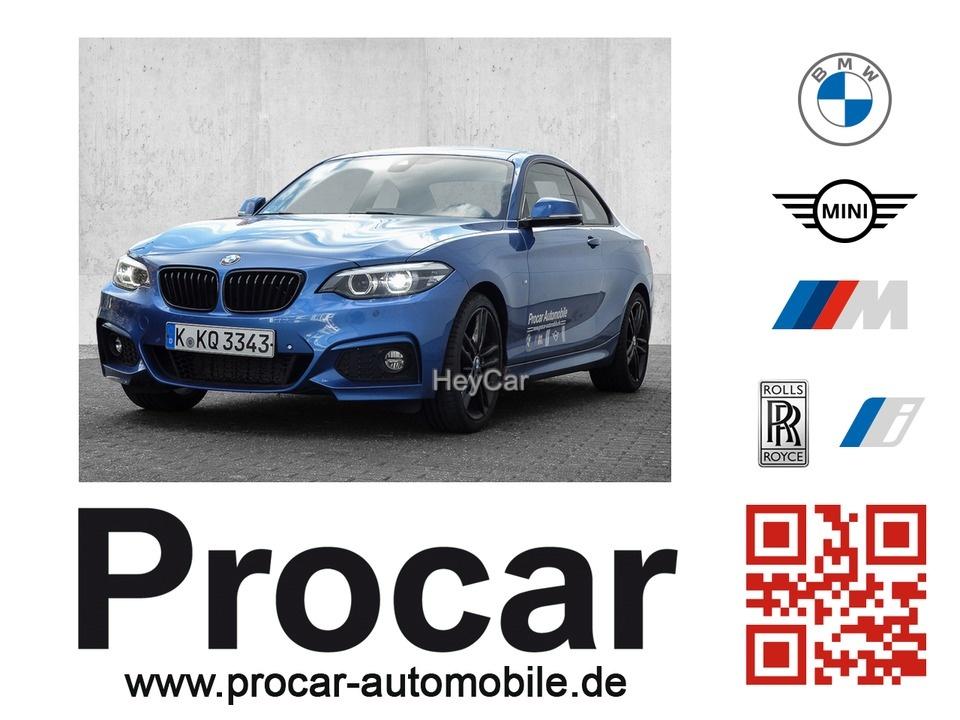 BMW 230i Steptronic Coupe M Sport Sport Aut. PDC RFT, Jahr 2019, Benzin