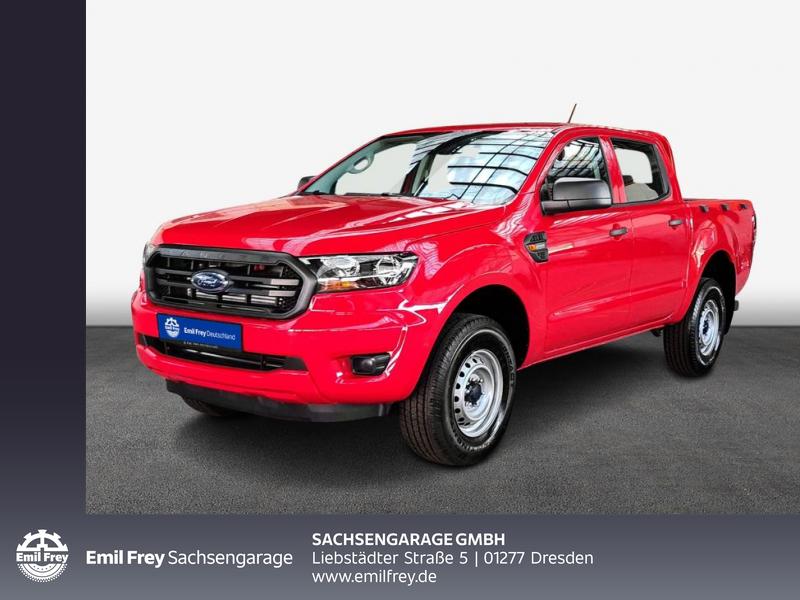 Ford Ranger XL Doka 2,0 125 kW, 4-türig (Diesel), Jahr 2021, Diesel