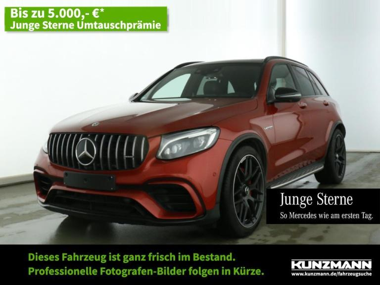 Mercedes-Benz GLC 63 S AMG 4M+ Night Comand LED Panorama 360°, Jahr 2019, Benzin