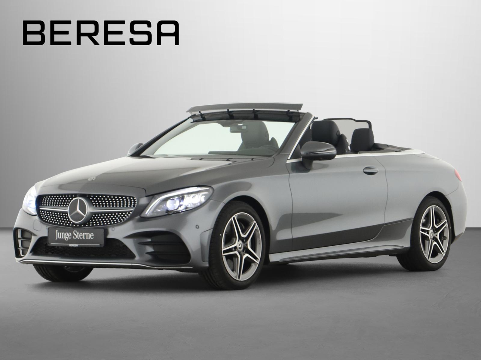 Mercedes-Benz C 300 Cabriolet AMG Burmester Fahrassist. 360°, Jahr 2019, Benzin
