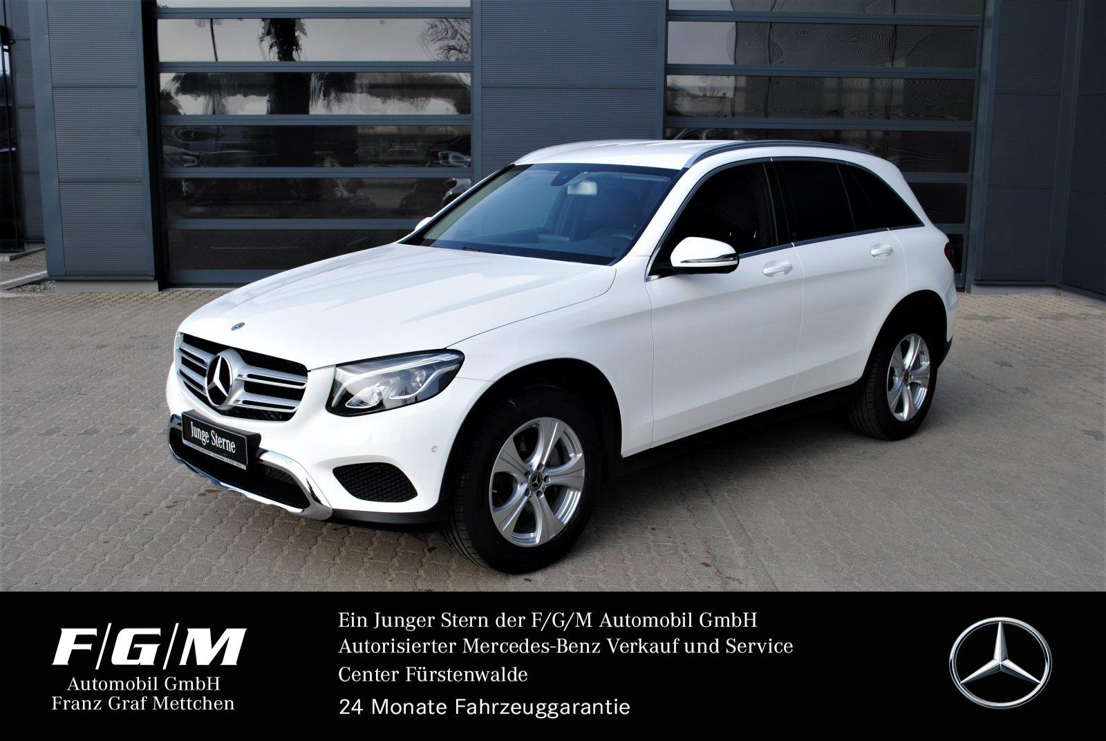 Mercedes-Benz GLC 220 d 4M EXCLUSIVE/Navi/LED-Licht/Parktronic, Jahr 2017, Diesel