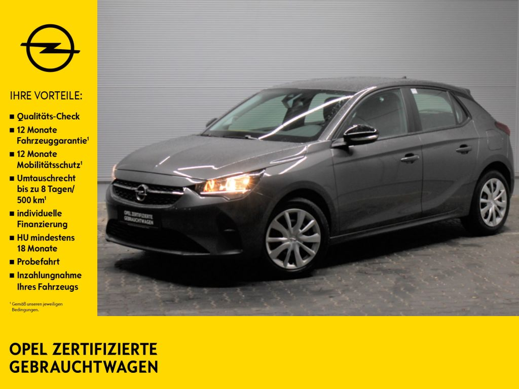 Opel Corsa F 1.2 Sitz- & Lenkradhzg PDC Allwetter, Jahr 2020, Benzin