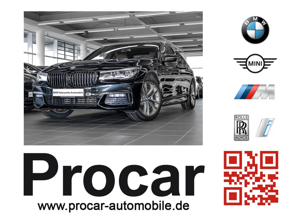 BMW 730d xDrive M Sportpaket Head-Up Soft-Close H/K, Jahr 2016, diesel