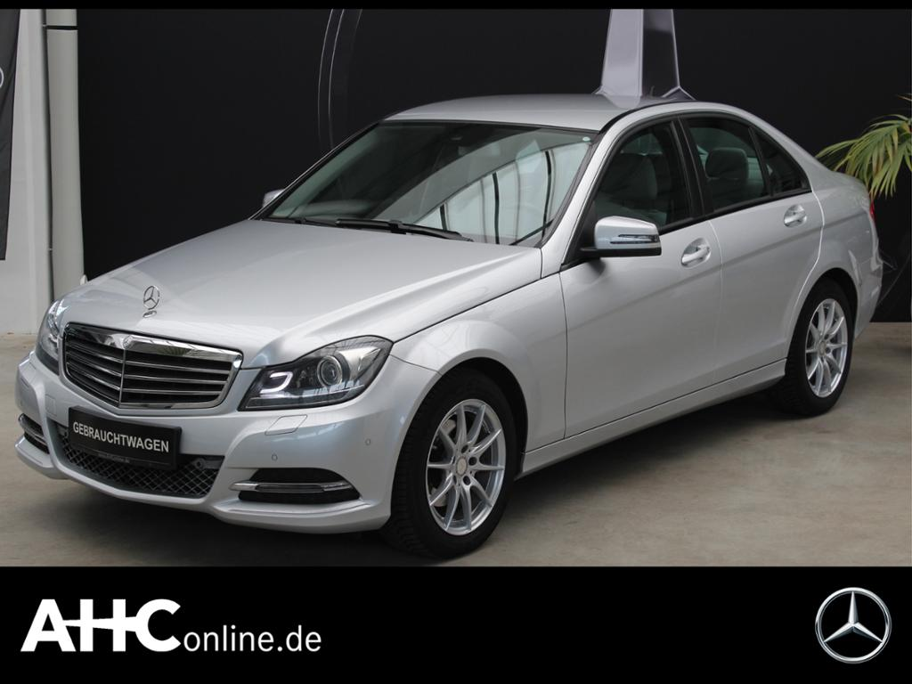 Mercedes-Benz C 200 CDI BE COMAND+SPUR-PAKET+BI-XENON-ILS..., Jahr 2013, Diesel