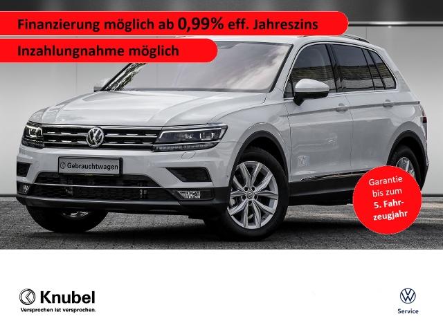 Volkswagen Tiguan Highline 2.0 TDI DSG Navi Pano AHK Rückf., Jahr 2020, Diesel