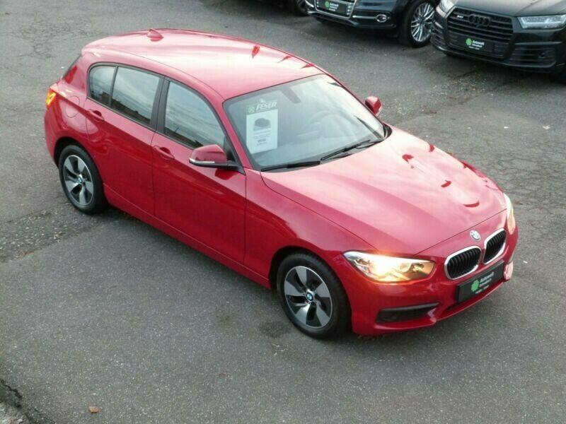 BMW 118 118i 5 türig KLIMAAUT ALU 16 PDC SHZ MFL 2., Jahr 2015, Benzin