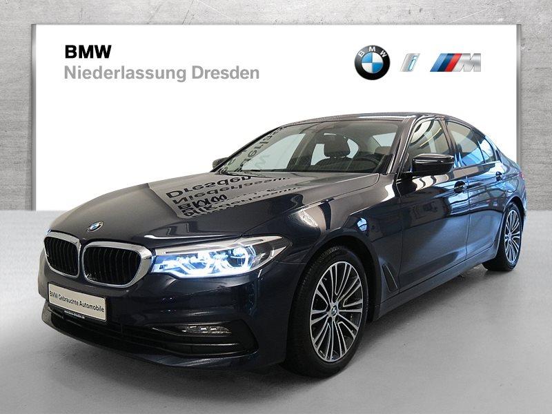 BMW 540i xDrive Limousine Sport Line EURO6 Head-Up HK HiFi DAB, Jahr 2017, Benzin