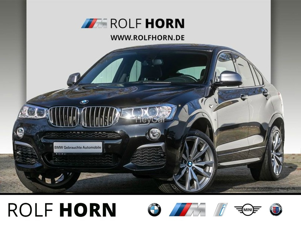 BMW X4 M40i M Sportpaket Navi Prof. Sport Aut. EDC, Jahr 2017, Benzin