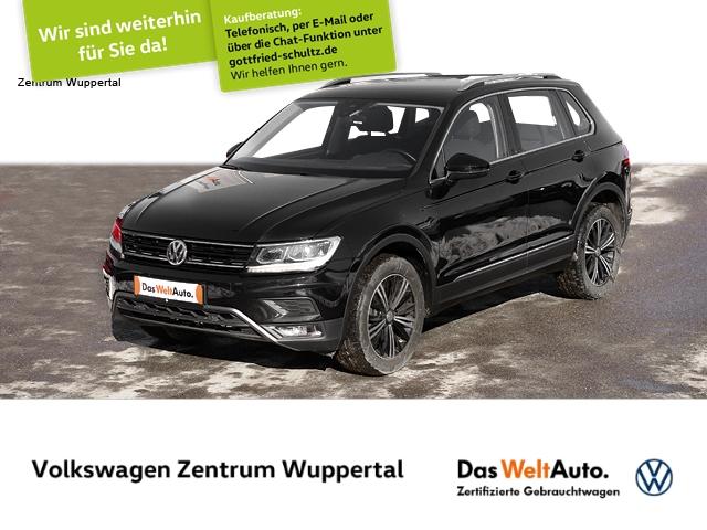 Volkswagen Tiguan 2,0 TDI Highline DSG LED NAVI SHZ PDC GRA APP LM ZV, Jahr 2017, Diesel