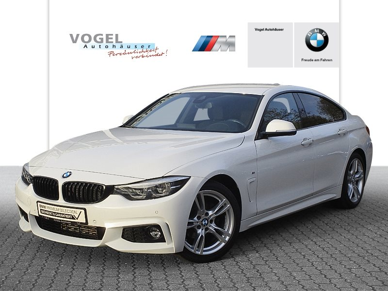 BMW 418d Gran Coupé Modell M Sport Euro 6 Navi Prof PDC Klima Sitzheizung Head-Up Display, Jahr 2017, Diesel