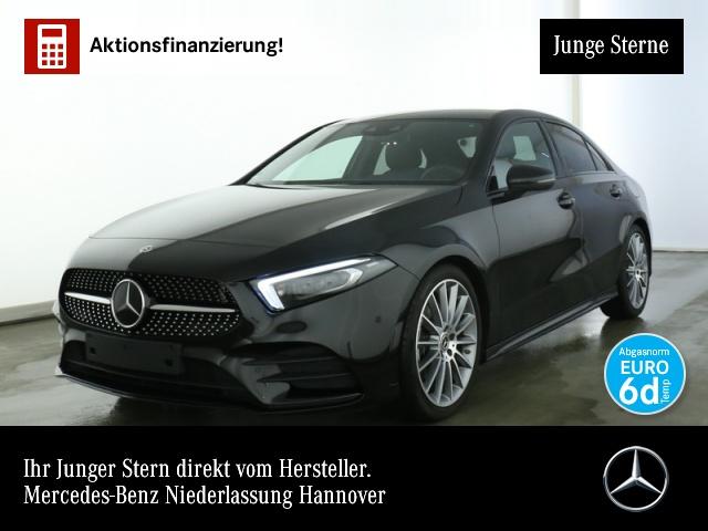 "Mercedes-Benz A 220 AMG Lim.Fahrass.Night.MBUX.Multi.19"".Ambie, Jahr 2019, petrol"