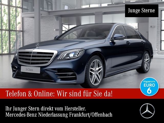 Mercedes-Benz S 450 AMG designo 360° Pano Multibeam, Jahr 2019, Benzin