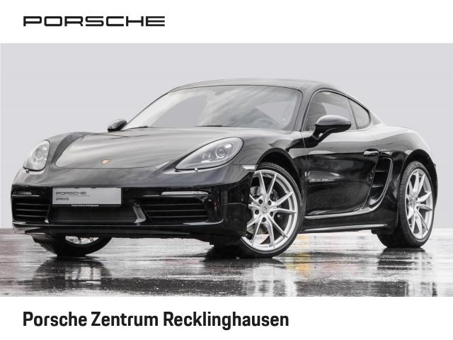 Porsche Cayman 718 Leder Dyn. Kurvenlicht Fernlichtass. PDCv+h, Jahr 2017, petrol