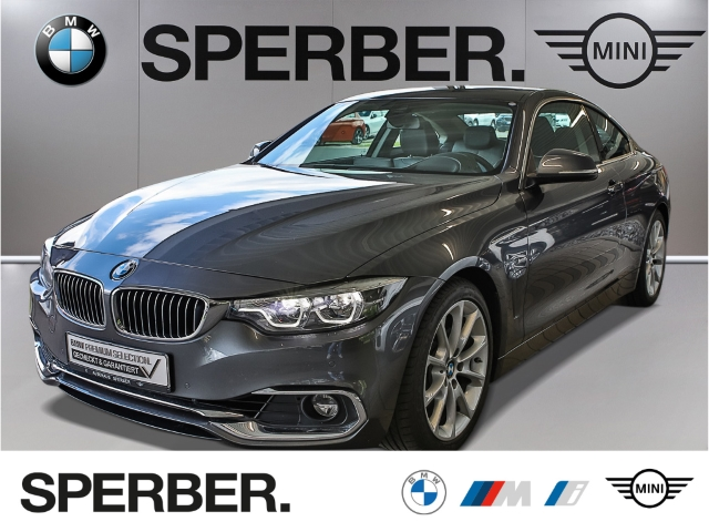 BMW 430 i Coupe,Luxury,GSD,HUD,NaviPro.,Adap.LED,Driv.ass.,PDC,Klimaauto.,uvm., Jahr 2017, Benzin