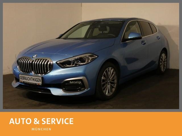 BMW 118d DSG Luxury Line Head-Up Navi SitzHzg WLAN , Jahr 2019, Diesel