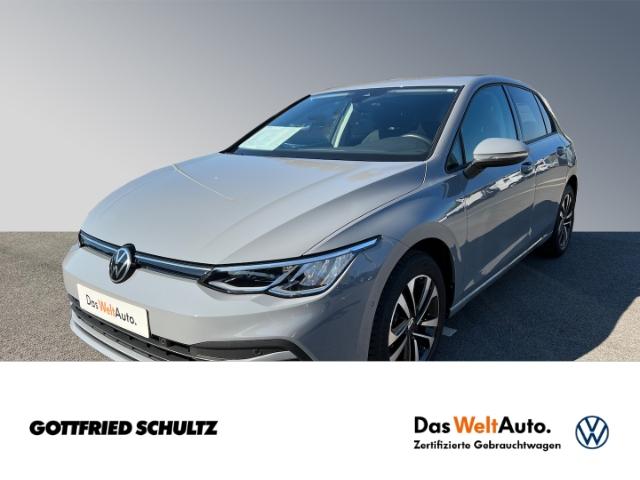 Volkswagen Golf United Life 1.0 eTSI DSG LED AHK, Jahr 2021, Benzin