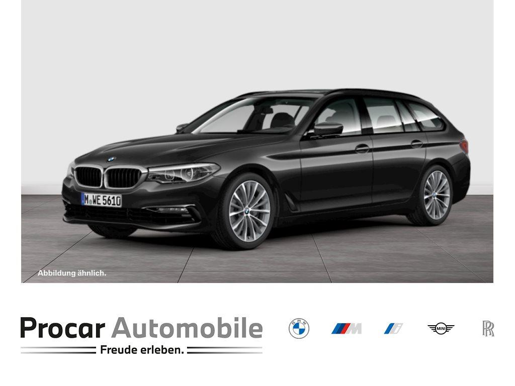 BMW 540i xDrive M-SPORTFAHRWERK++NAVIGATION++LED++HIFI++19-ZOLL+, Jahr 2018, Benzin