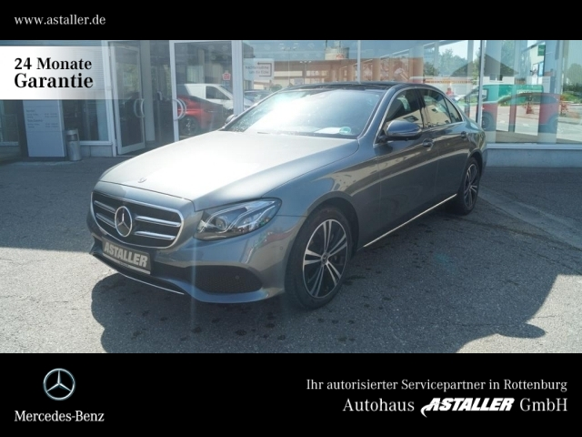 Mercedes-Benz E 450 4M Avantgarde+Comand+Pano+360°+Multib+Wide, Jahr 2019, Benzin