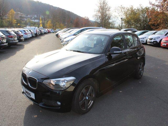 BMW 114i, Jahr 2012, petrol