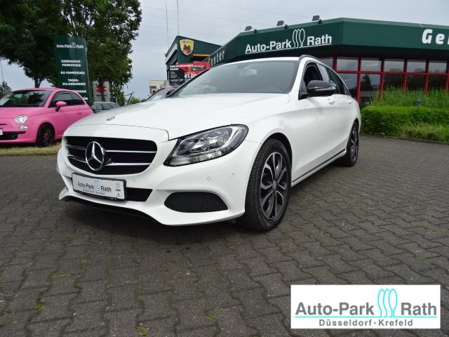 Mercedes-Benz C 200 T-Modell 1.6l*Avantgarde*AHK*night- Paket*SHZ*Navi*akt.-Parkassistent*, Jahr 2016, Diesel