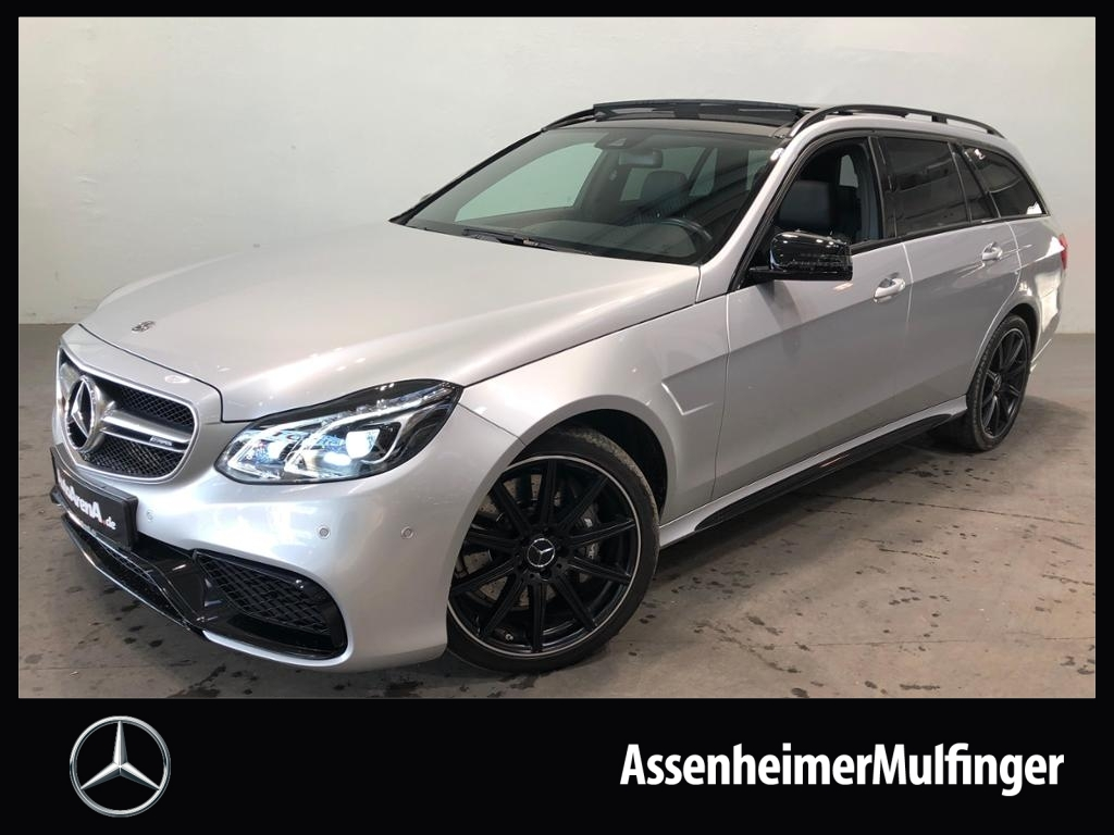 Mercedes-Benz E 63 AMG 4matic T *COMAND/Sitzheizung, Jahr 2015, petrol