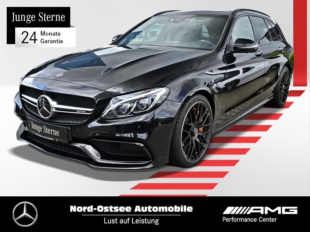 Mercedes-Benz C 63 S T AMG COMAND HUD Night Pano Keyless Parkp, Jahr 2017, Benzin
